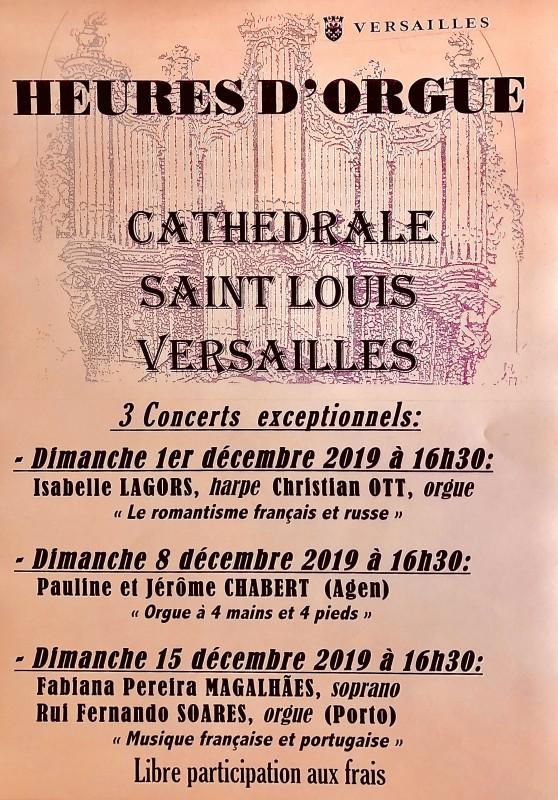 Concierto en la Catedral de Saint-Louis -