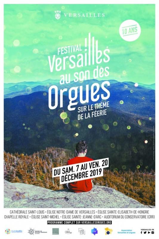 10 ma edición de Versailles al sonido de los órganos / Heure d'Orgue