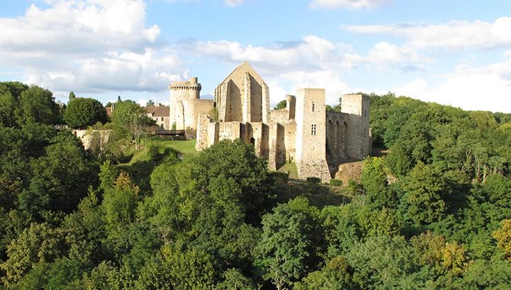 Château de la Madeleine - vallée de Chevreuse - Versailles - balade en voiture