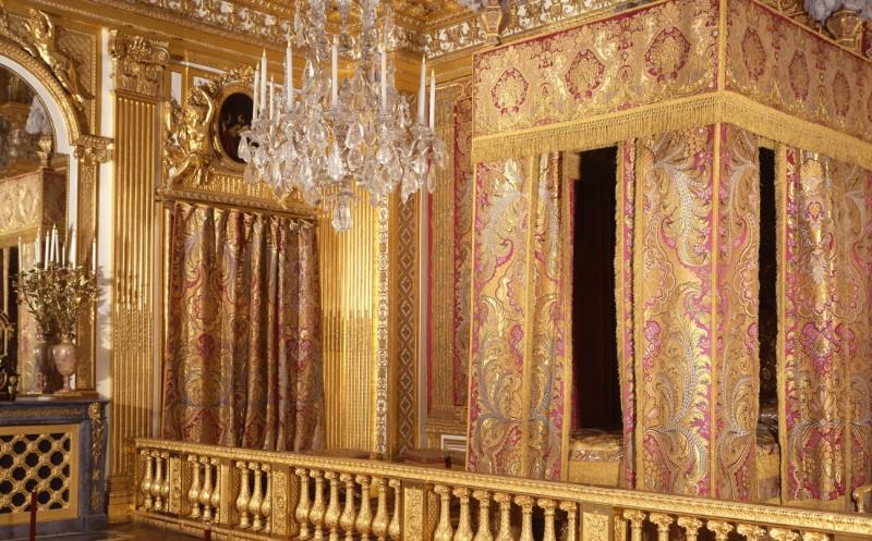 Chambre du Roi - Château de versailles - Louis XIV - visite - billet