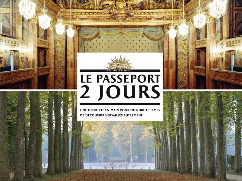 Château de Versailles passeport 2 jours