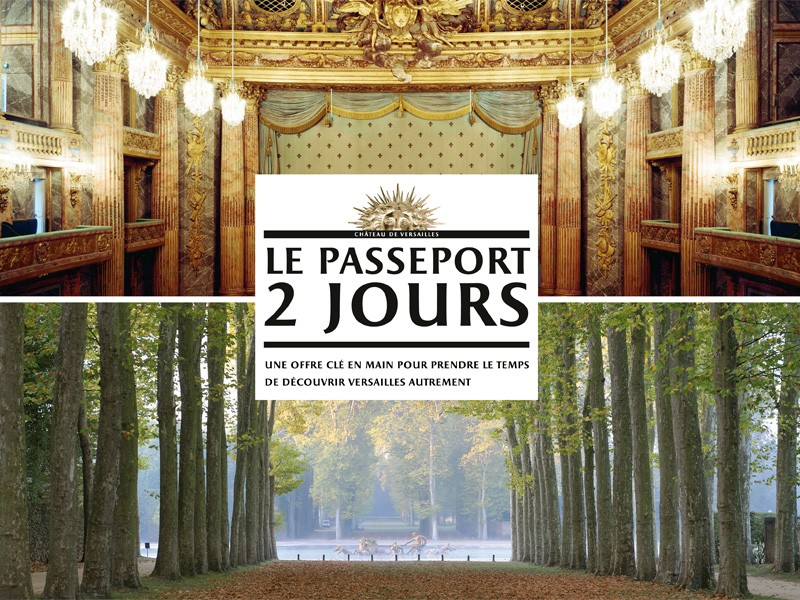 Two day pass in Palace Versailles