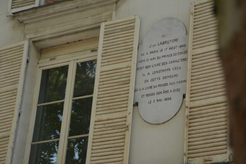 Ecrivains Célèbres Quartier Notre Dame Versailles