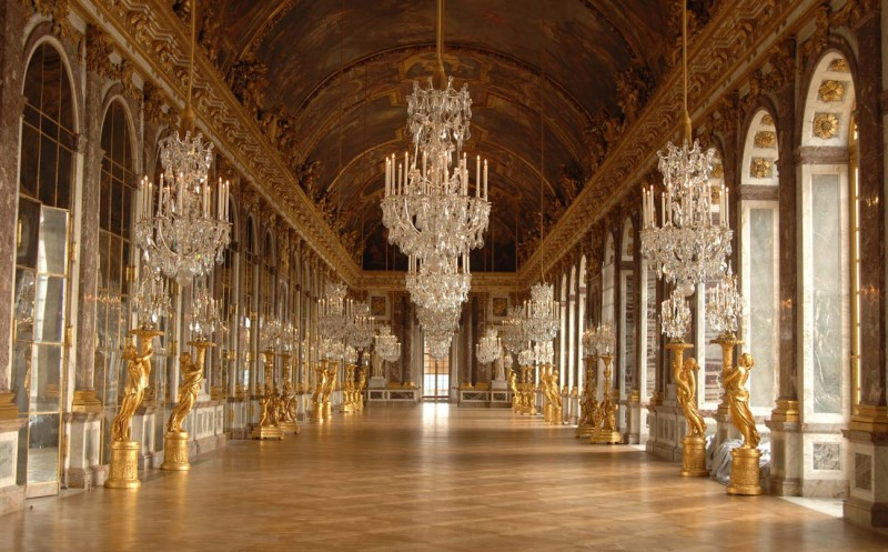 Versailles palace - hall of mirrors - Palace ticket - visit - Louis XIV