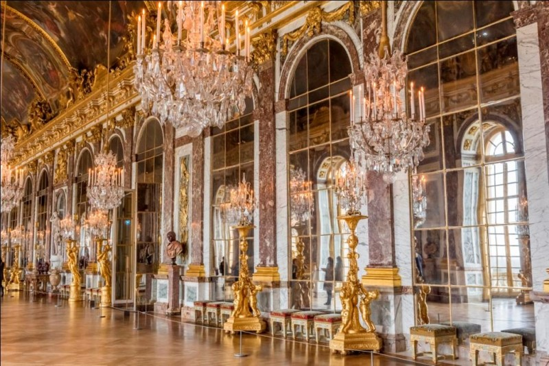 Versailles Palace - Hall of mirrors - Guided tour - Louis XIV