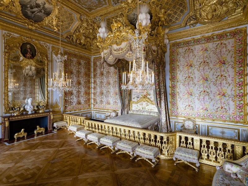 los apartamentos de la Reina - Versalles