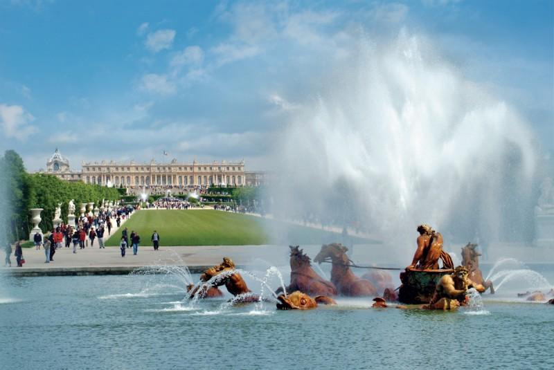 Aguas Musicales - Jardines - Parque - Palacio de Versalles