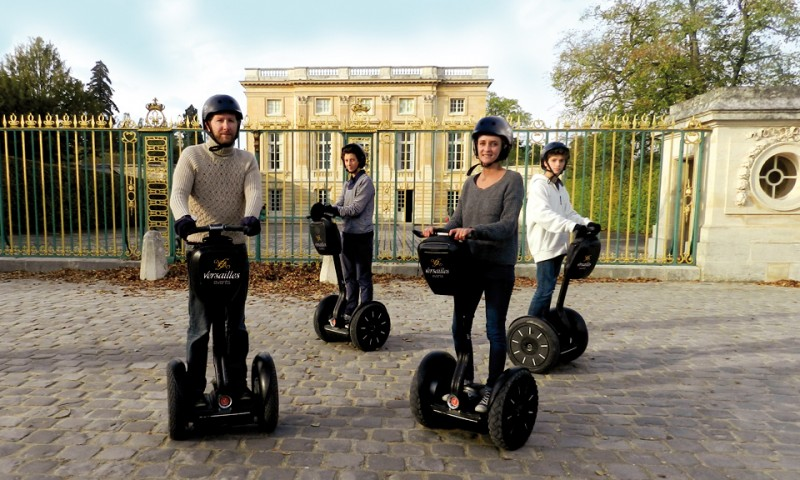 Versailles events - Segway tour in English - Petit trianon - visit - Versailles palace - park